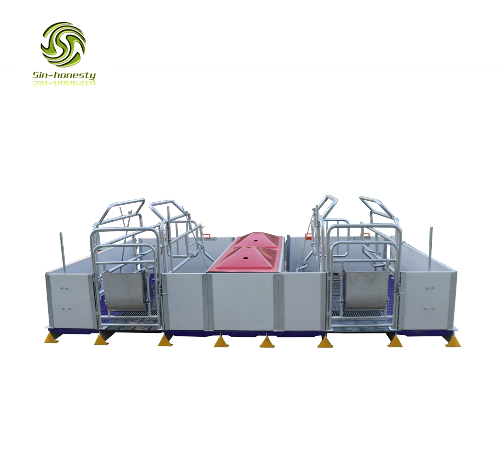 Pig farming equipment pvc farrowing crate SHF007