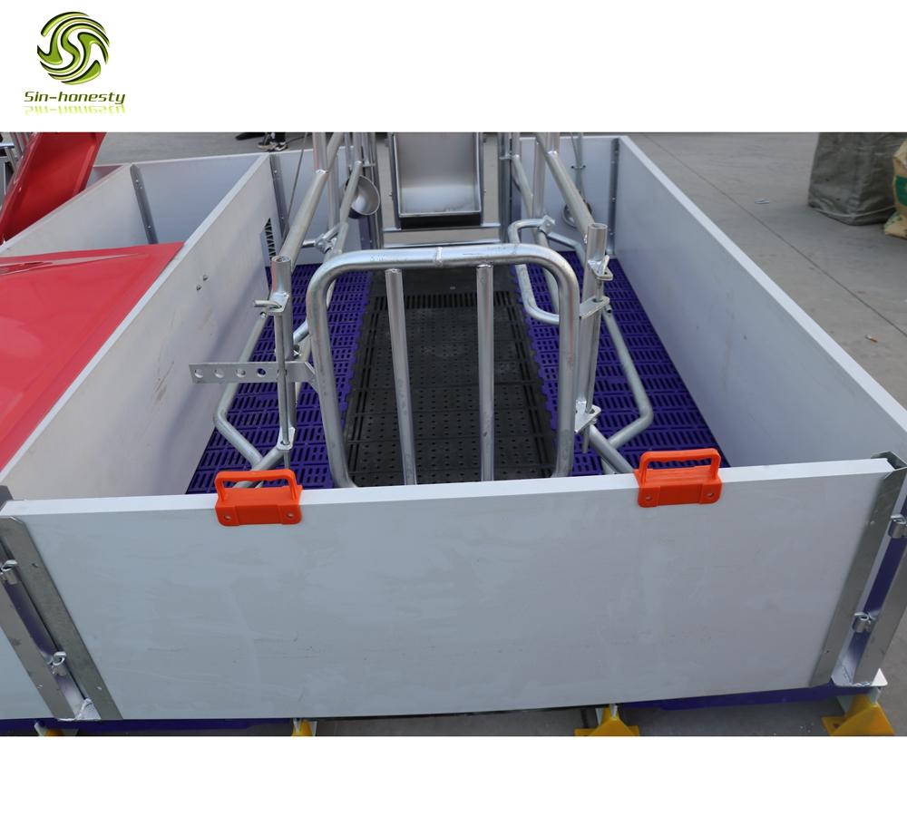 Pig farming equipment pvc farrowing crate SHF007